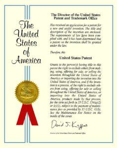 Patente página 1